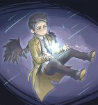 Castiel - I Live to Let You Shine by mangarainbow