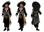 Captain Barbossa PNG Datei Free by KomyFly