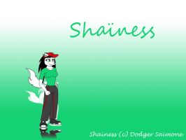 Shainess - character sheet by RMPSI