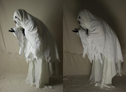 Bedsheet Ghost 11 by The-Lionface