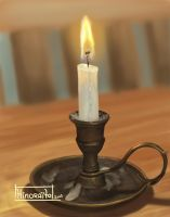Nature Morte 3 - My Candle by hinoraito