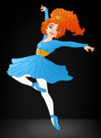 Disney Ballerina: Merida by Willemijn1991