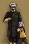 Steampunk Family by Niuniente