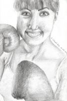Female boxer by sylwia1098