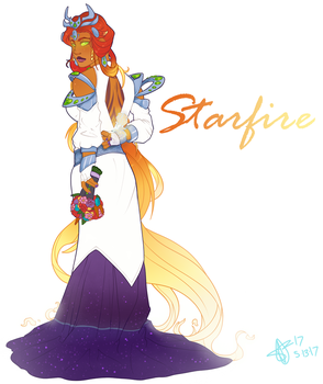 Space Beyonce by SpytDragonFyre