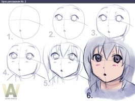 Anime Girld Drawing Tutorial by LonWu