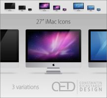 "27"" iMac Icon OS X by CE0311"