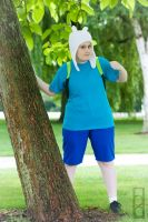 Adventure time- Finn the Human by Bakura-kat