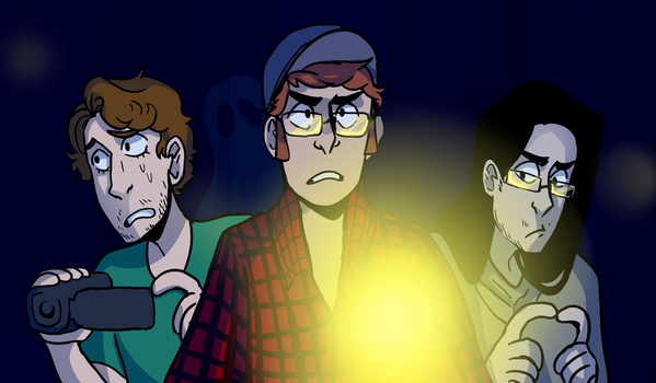 professional ghost hunters by Yokiter
