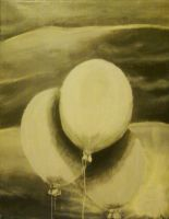White Ballons by brietta-a-m-f