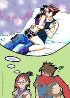 Tora's kinky thoughts by punkbot08