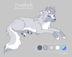Char sheet 27 - Frostbolt by KayFedewa