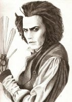 Sweeney Scissorhands by magentafreak