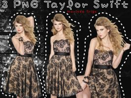 Pack 3 PNG de Taylor Swift by SandHansen