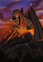 Bryagh - Flight of Dragons by Martin-Saelens
