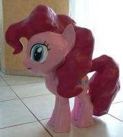Pinkie Pie Clay Statue Final 2 by Znegil