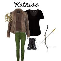 Katniss polyvore by live4dancingg