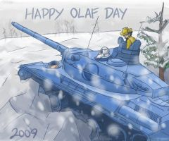 Advance Wars: Olaf Day 2009 by Mirinee