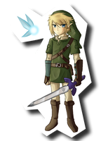 Link + Navi by chienoir