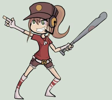 Female Scout by Yourfavoritemanican