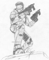 Master Chief by wayspacedout