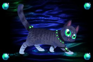 Water Kitty by lizspit