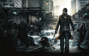 Watch Dogs UI Style Animated by DataBase379