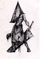 Silent Hill Pyramid Head by Comanche11