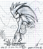 .:Silver The Hedgehog:. by DarkCatSoul
