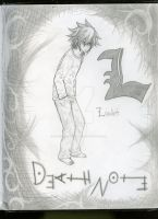 L Lawliet by GOTHICbutAcronaLover