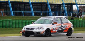 Time Attack Civic by compaan-art