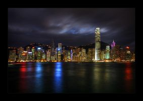 Hong Kong Skyline by tyt2000