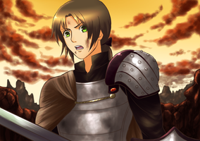 Collab - Knight!Liet by Arisu95