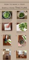 How to make a simple herbal tincture by Steam-Pirate