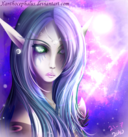 The Night Elf by Xanthocephalus