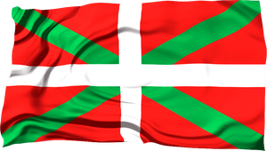 Flags of the World: Basque Country by MrAngryDog