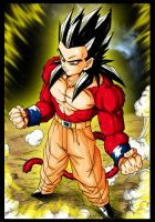 Gohan Super Sayan 4 by Trunks777