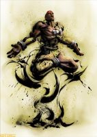 street fighter dhalsim by batguyz