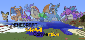 Pokemon Minecraft Conversion by HbubelyArtForms