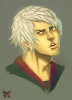 DEVIL MAY CRY 4: NERO by DocSinistar