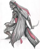 Assassin drawing by EloiseS16