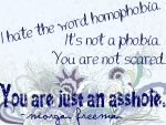Notable Quotables - Definition of Homophobia by zest1513