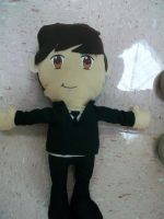 Paul McCartney Plushie by Midnight-attractions