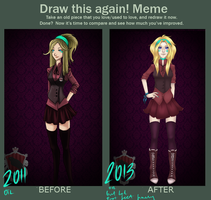 Meme  Before And After  Zeff by Avahollic