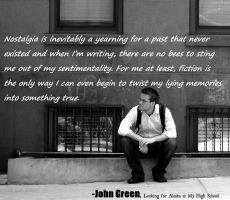 John Green Quote by lrr92