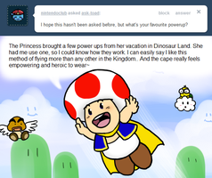 Ask Toad - Favorite Power-up by pocket-arsenal
