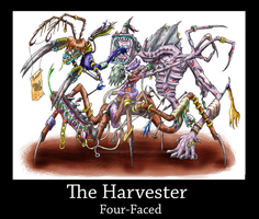 The Harvester, Four-Faced by Swimmingferret