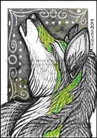 ACEO Nightfell by LadyFromEast