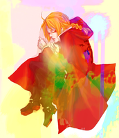 FMA : Sleep with a Burning Flame in You Heart by KuroLaurant
