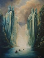 The Argonath by N00dleIncident